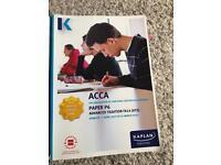 ACCA P6 Advanced taxation Kaplan 2016 version