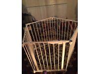 Child safety gate playpen