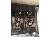 **NEFF**4 RING**GAS HOB**BLACK**FULLY WORKING**COLLECTION\DELIVERY**NO OFFERS**