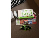 Nintendo wii/ wii fit plus and games