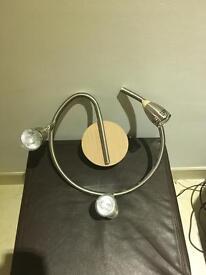 3 way light fixture - With adjustable heads