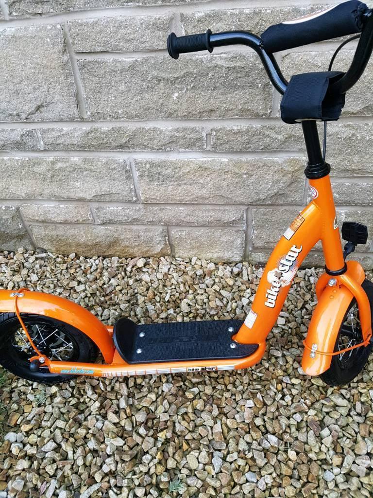 Bikestar Kids Scooter age 5+ Orange nearly new