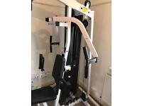 Body solid gexm2000 multi gym with leg press attachment