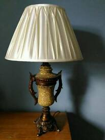 Antique french style table lamp