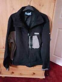 Trespass waterproof shell jacket fleece lined size M. Cost £40