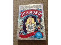 Jacqueline Wilson Diamond hard back book Excellent condition only £1