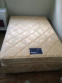 Myerpaedic divan double bed