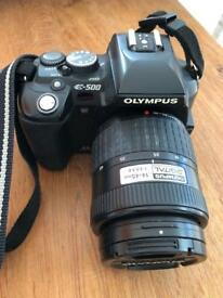 Olympus E500 SLR with 14-45mm lens