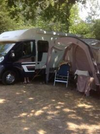 2018 VANGO GALLI II (TALL) AIR MODEL AWNING with Skyliner