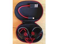 Power Beats 2 Wireless Headphones - As New Condition