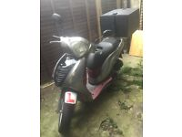 Honda Ps 125i 2006 new engine& 8 months mot.Perfect Delivery Bike
