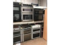 Single ovens and double ovens lots available