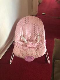 Baby's bouncy chair