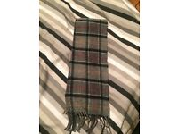 Men's Barbour scarf RRP £30