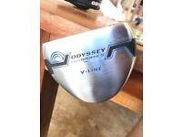 Odyssey works v-line golf putter