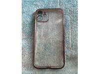 Apple iPhone 12 case clear with black sides