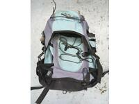 Basic 45L rucksack / backpack for travelling & festivals