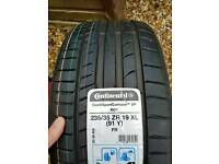 Continental 5p tyre, 235-35-19 XL