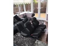 Audi A4 sline leather seats