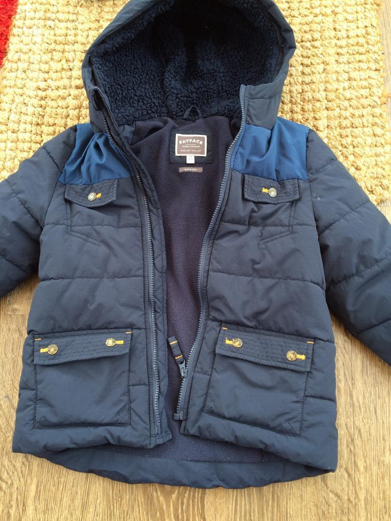 Boys fat face jacketin Elgin, MorayGumtree - Boys navy fat face jacket with thick fleece lining. Hardly worn, outgrown. Age 8 9 yrs
