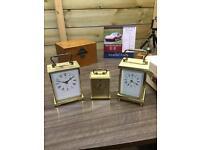 Vintage Carriage Clocks S/R