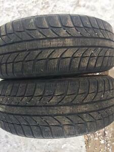2 pneus 185/55r15 gt radial