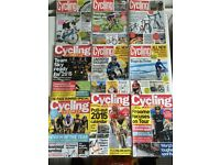 109 cycling weekly magazines 2011-16 + other cycling mags. £20 but offers accepted. Collection only.