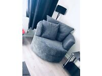 DYLAN CORNER + CUDDLE CHAIR CORNER OR 3+2 SEATER SOFA SET AVAILABLE IN STOCK