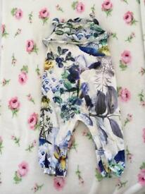 Beautiful floral playsuit from Next