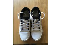 Boys Adidas golf shoes, size 4