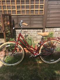 Pendleton Somerby Hybrid Bike - Red