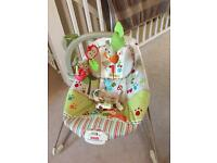Fisher price Woodsy friends baby bouncer