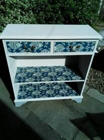 Shabby chic vintage cabinet