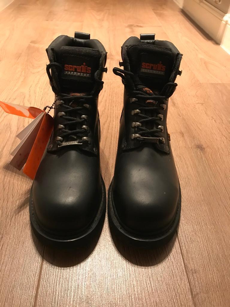 Stuffs steel toe cap and midsole size 10