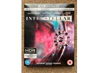 Interstellar 4k UHD Blu Ray & digital copy!