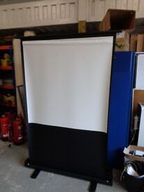 free standing celexon mobile projector screen