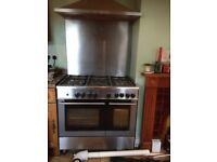 Large gas cooker