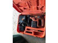 Joblot of power tools incl. hammerdrill, 2 x grinders, cordless drill, airgun, sander, jigsaw, kango