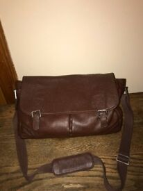 Leather bag- almost brand new. used only once