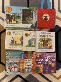 Kids books and jigsaw