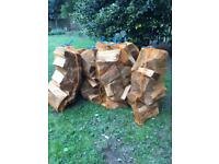 Seasoned Quality Firewood Logs Bagged And Ready (Approx 15-17kg)