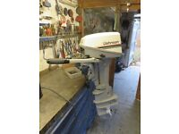 Johnson 6HP Boat Engine,long shaft,first class used engine (basically new),first to view will buy