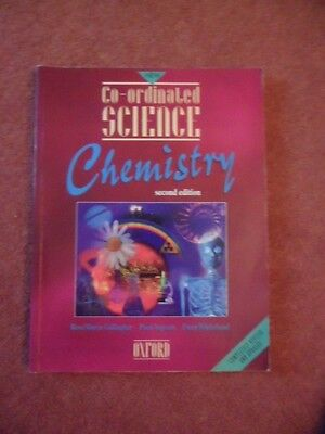 Co-Ordinated Science Chemistry- GCSE Students Text Book for sale  Shipping to South Africa