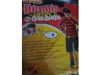 Rubies beano Dennis the menace costume age 7-8 for halloween