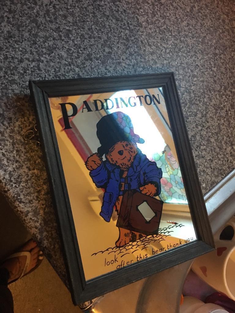 Paddington bear mirror