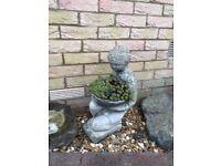 Weathered Stone Garden Ornament