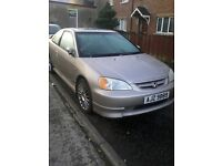 Honda Civic Coupe VTEC, 2 Door Saloon, Limited Edition, Full Years MOT!