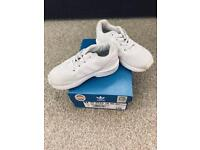 Size 7 Adidas flux trainers