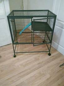 Ferret/Pet Cage on Wheels