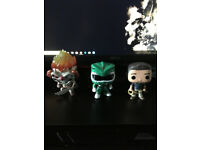 Collection Of 3 Pop Figure's